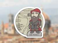 Da Vinci Badge