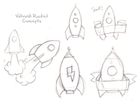 Voltronik Rocket Sketch