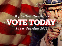 Super Tuesday - Vote!