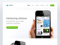 Jolicloud Website