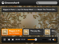 Grooveshark mini music player (freebie)