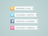 Social Networking Buttons
