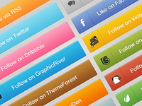 Freebie: Marketplace/Social Networking Buttons
