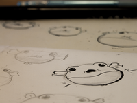 Blowfish Keyframe Sketches