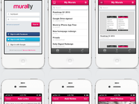 Murally iPhone App