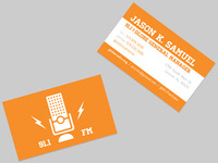 The Globe - Business cards