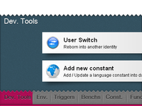 Developer toolbar v2