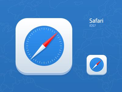 Download iOS 7 Safari Icon Redesign