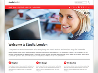 Studio.London WordPress Theme