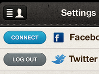 (Retina) Updated share settings