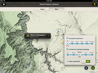 Map View on iPad
