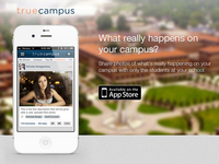 True Campus Splash Page