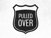 Pulled Over Logo Concept