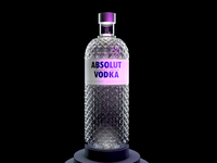 Absolut Glimmer - Product Model