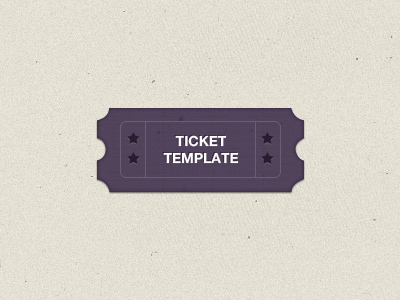 Download Ticket Template