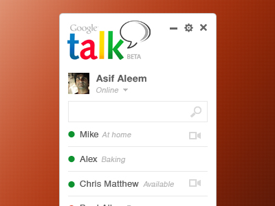 Download Gtalk Concept Design