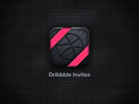 Dribbble Invites Icon
