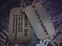 INPHANTRY Dog Tags