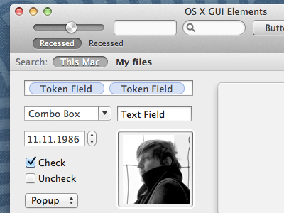 Download Mac OS X GUI Elements .sketch