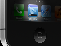 Sparrow iPhone (Web Teaser)