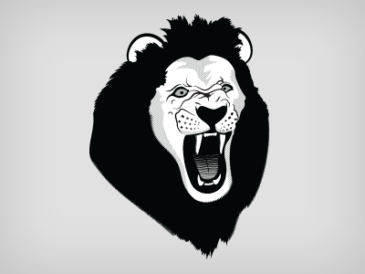 狮子头简笔画图片_狮子头简笔画大全