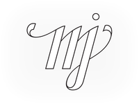 MJ Monogram - Outline