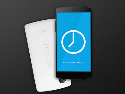 Download Nexus 5 Mockup Screen