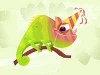Birthday Chameleon