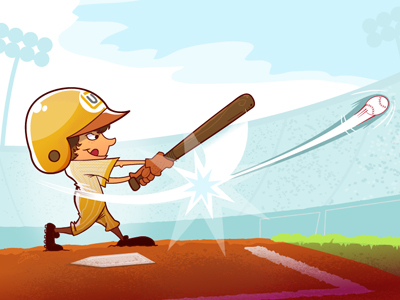 Swing-into-spring-dribbble-shot