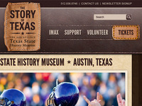 Unused Museum Website Design