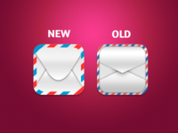 Mail iOS Icons