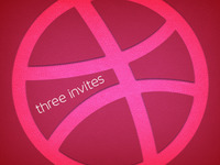 Three Dribbble Invites to Giveaway