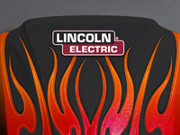 Lincoln Electric Helmet - Flames