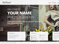 Refined SmugMug Template
