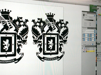 Family Crest Engraving