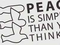 Peace Is Simpler Than You Think