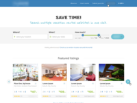 Vacation rental search engine