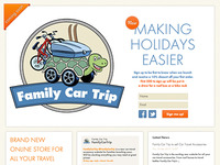 Family Car Trip website Coming Soon Holding Page