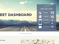 Fleet Dashboard Home