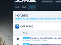 Jowst Forums Jun 2012