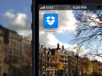 New Dropbox iOS Icon rebound