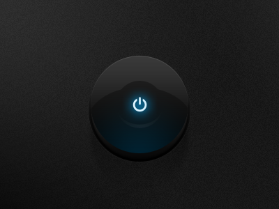 Dark-ui-round-button