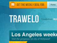 Travel deal site header