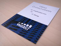 WiFast Business Card Front