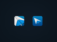 Sparrow iPhone icon