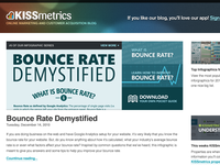 KISSmetrics blog sneak peak