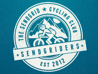 The SendGrid Cycling Club logo