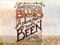 American Blues - final typography