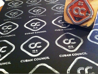 Cuban logo stamps