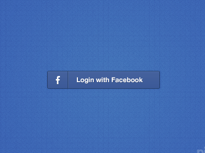 Login with Facebook Button